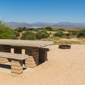 Typical campsite in the family campground.- McDowell Mountain Regional Park