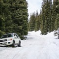 Clearly driving in winter isn't the best idea.- Jones Pass