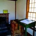 Cabin reconstruction.- Walden Pond + Adams Woods