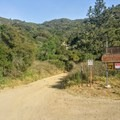 Beginning of the route.- Santa Ana River Trail to Angeles Oaks