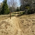 The singletrack near Thomas hunting grounds.- Santa Ana River Trail to Angeles Oaks