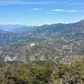 West with Mount Baldy in the distance.- Santa Ana River Trail to Angeles Oaks