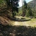 Old Highway 38 near Angeles Oaks.- Santa Ana River Trail to Angeles Oaks