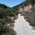 Old highway 38 near Mountain Home Village.- Santa Ana River Trail to Angeles Oaks