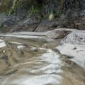 Seasonal creek at Winema Beach.- Winema Beach