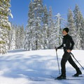 Skiing along the Yuba Trail.- Yuba Trail