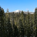 Views of Brokeoff Mountain before the steep climb.- Christie Hill Snowshoe