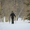 High mountainous conditions make for snow lasting later in the season and coming at unpredictable times, but that's not a bad thing if you want to be able to have that winter feeling well into the spring.- Red Lake / Forestdale Road