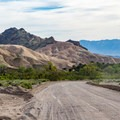The road into China Ranch.- China Ranch Date Farm