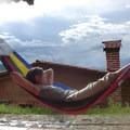 Hammock in Latuvi.- Sierra Norte of Oaxaca