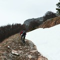 There may be some snow in early spring.- Celano, Ovindoli + Aielli Mountain Biking Loop