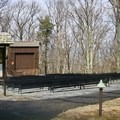 The amphitheater.- Big Meadows Campground