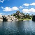 Sylvan Lake in Custer State Park.- Custer State Park