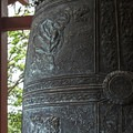 Beautiful detail on the sacred bell.- The Byodo-In Temple