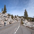 Bike through Yellowstone's famous Hoodoos.- Grand Loop + West Yellowstone Tour
