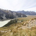 Incredible views along the Muller Hut route.- Mueller Hut Route