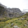 The view at the end of the trail.- Rob Roy Glacier Trail