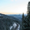 The view looking north.- Berthoud Pass Ski Area