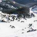Current Creek Basin.- Berthoud Pass Ski Area