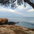Kahe Point cliffs near the beach picnic area.- Kahe Beach Park / Electric Beach