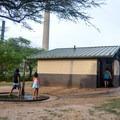 Kahe Beach park has bathrooms and freshwater showers.- Kahe Beach Park / Electric Beach