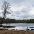 Winter is a great time to hike the trail around the lake.- Lake Shaftsbury State Park