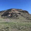 A view of Barber Peak from the loop trail.- Barber Peak Loop