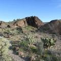 Sweeping desert views await around every corner of the Barber Peak Loop.- Barber Peak Loop
