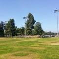 Parking area at Yorba Regional Park.- Santa Ana River Trail to Huntington Beach