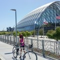 Anaheim Regional Transport Intermodal Center.- Santa Ana River Trail to Huntington Beach