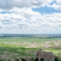 Sprawling views from the Notch Trail in Badlands National Park.- Notch Trail
