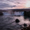 Goðafoss in the late fall.- Goðafoss