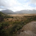 Mountains of New Zealand near the Heaphy Track.- New Zealand Great Walks: Heaphy Track