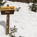 Quandry Peak Trailhead.- McCullough Gulch
