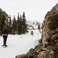 The trail continues climbing.- McCullough Gulch