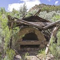 An old brick oven.- Sego Canyon