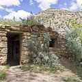 One of the old cabins in Sego Canyon.- Sego Canyon