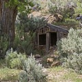 An abandoned earth structure in Sego Canyon.- Sego Canyon