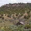 An old cabin in Sego Canyon.- Sego Canyon