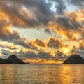 Breathtaking sunrises are the norm here.- The Mokulua Islands