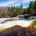 The lead-in to Rainbow Falls.- Middle Branch of the Oswegatchie: Section 4