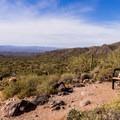 Views along the Pass Mountain Trail.- Pass Mountain Loop Hike