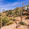 Entering Tonto National Forest.- Pass Mountain Loop Hike