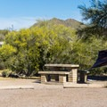 Typical campsite.- Usery Mountain Regional Park