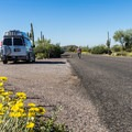 The campground is spacious and well-maintained.- Usery Mountain Regional Park