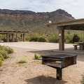 Picnic areas have shade and a playground.- Usery Mountain Regional Park