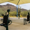 Usery Mountain's unique outdoor exercise gym.- Usery Mountain Regional Park