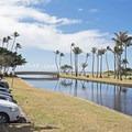 The Waialae Stream.- Kahala Beach