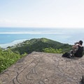 Views from the top of the Pu'u Ma'eli'eli Trail.- Pu'u Ma'eli'eli Trail