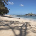 The beach is not huge, but it's plenty big for the amount of people that come here.- Waiale'e Beach Park